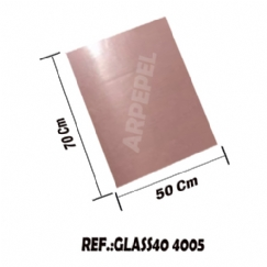 Foto PAPEL GLASSINE 40 GR C/100 FLS - ROSÊ PEACH 4005