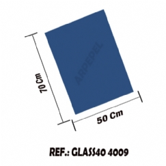 Foto PAPEL GLASSINE 40 GR C/50 FLS - CLASSIC BLUE 4009