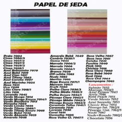 Foto PAPEL SEDA  50 X70 C/20 CHOCOLATE 7056